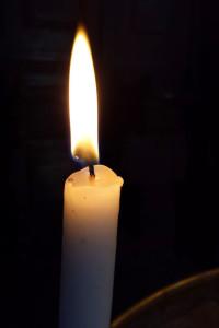 Палим по една свещичка за хубаво време и късмет ...