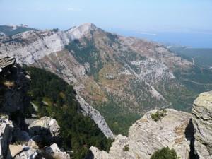 Приближаваме връх Ypsarion ...