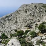 Ryakas ... каньон ... ние сме в Гърция или някъде в Перу? На снимката виждаме първата ни за днес дестинация ... Selini басейн.