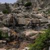 ... Selini басейн под водопад Ryakas. През юни, има толкова много вода ... аз предполагам при 18 м ...