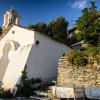 Остров Икария ... от пристанището ... отиваме за да останем в Кампос и вечерта отиваме до Theoktisti манастир ...