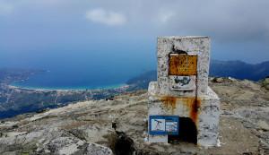 ... Ypsarion 1204 метра ...