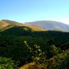 Главното било на Стара Планина ... в далечината връх Миджур ...
