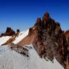 ... скална грамада, която маркир най - високата точка 3917 мера ...