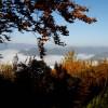 От тук при ясно време се виждат много български и сръбски планини ...