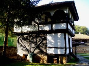 Манастирът е основан към края на XIV век.