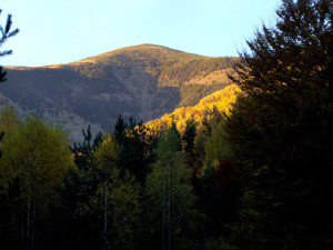Царев връх е рядко посещаван.