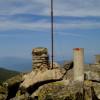 Планината Врондос ... връх Пророк Илия (1849м.) ...