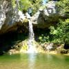 Водопадите Drymonas е място с неизчерпаеми природни красоти ...
