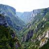 Лазарев каньон, един от най - големите каньони в Сърбия.