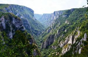 Лазарев каньон, един от най - големте каньони в Сърбия.