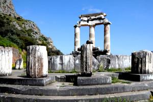 свещения район в храма на богинята Атина ...
