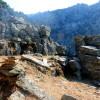Остров Икария. Търсим път към водопад Raksounia ....
