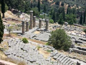 Delphi - Храмът на Аполон и театъра ...
