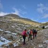 От тук започва нашия трек, към някои от най - високите върхове на планината Кушница