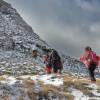 Изкачването на вторият по височина връх в планината е трудно!