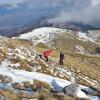 Слизаме обратно до платото Дионисос ...
