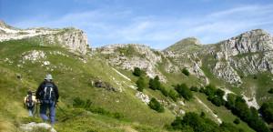 Започваме изкачване към главните Пангейски върхове ...