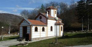 По пътя спираме за посещение на църквата Свети Илия.